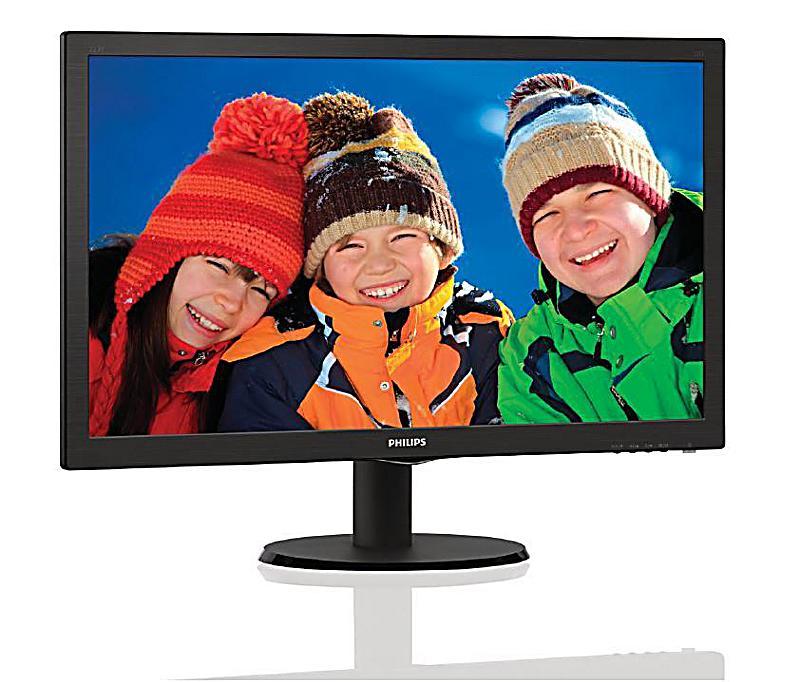 philips 223v5lsb2 lcd monitor 21 5 zoll bestellen. Black Bedroom Furniture Sets. Home Design Ideas