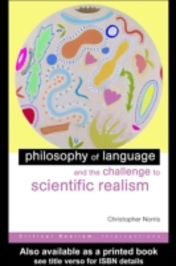scientific realism In this essay, i will argue, somewhat paradoxically, that scientific realism can  provide no support to philosophical naturalism in fact, the situation is precisely  the.