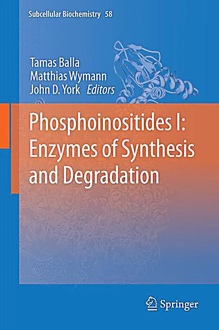 phosphoinositides i enzymes of synthesis and degradation buch. Black Bedroom Furniture Sets. Home Design Ideas