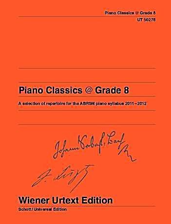 Piano classics grade 8 buch bei online bestellen for Piano house classics