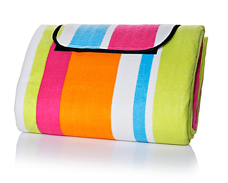 picknickdecke stripes 150 x 200 cm beschichtet. Black Bedroom Furniture Sets. Home Design Ideas