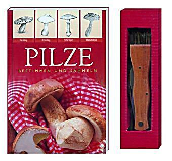 pilze bestimmen und sammeln m pilzmesser mit pinsel buch. Black Bedroom Furniture Sets. Home Design Ideas
