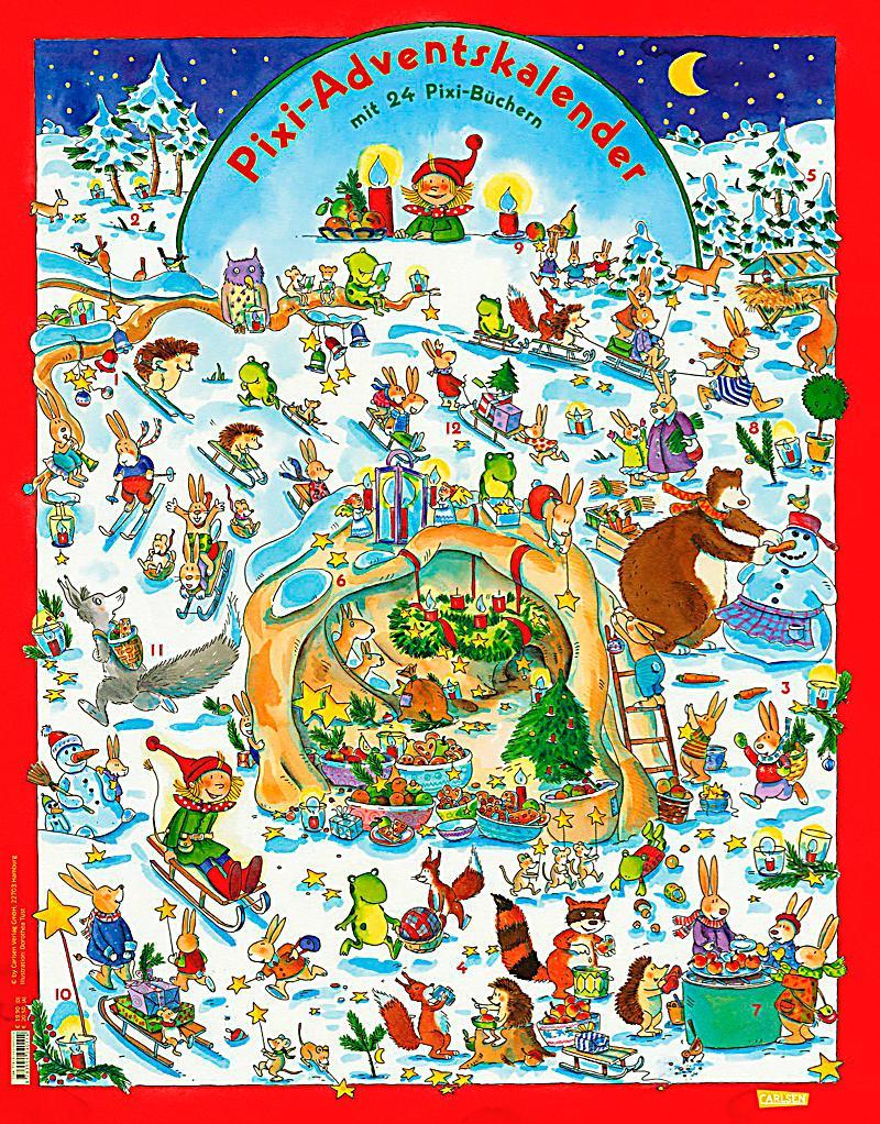 Pixi adventskalender 2014 jetzt bei bestellen - Pixum adventskalender ...