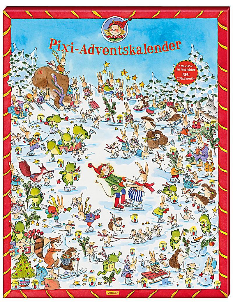 Pixi adventskalender 2016 buch portofrei bei - Pixum adventskalender ...