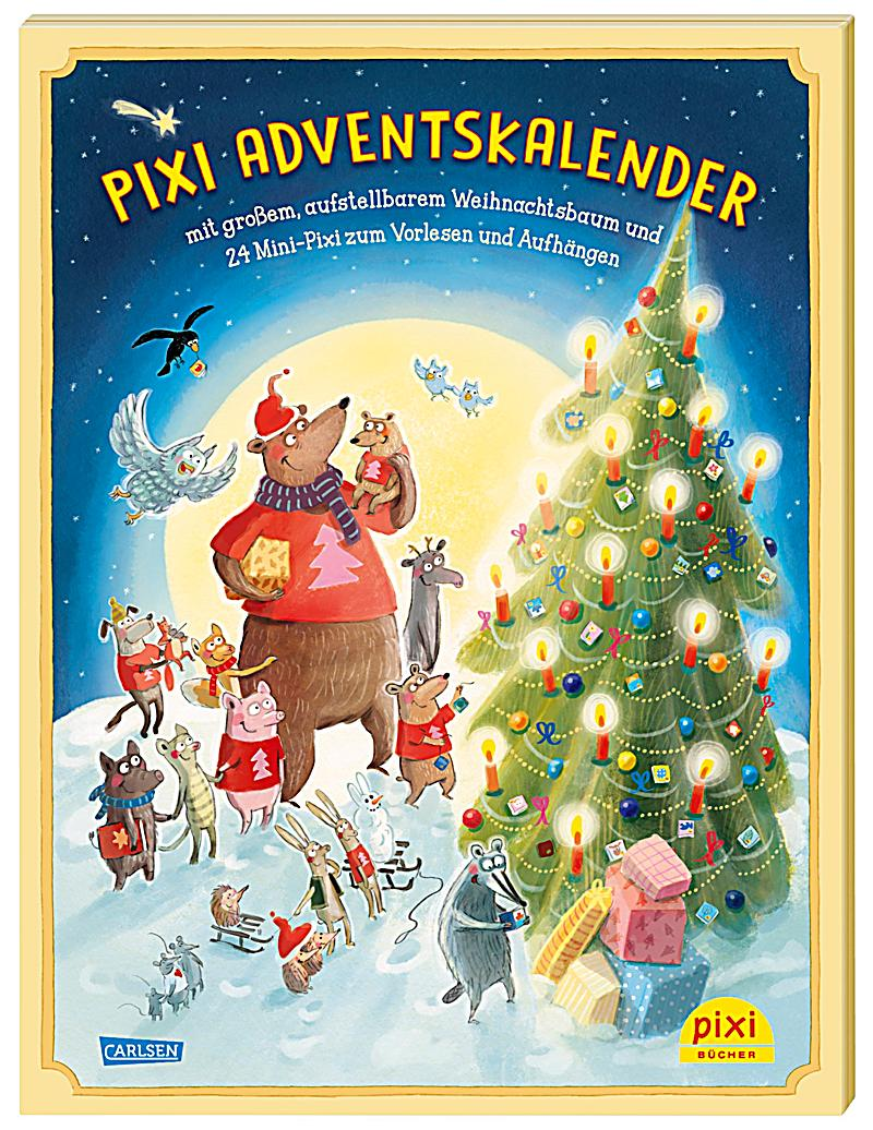 pixi adventskalender mit weihnachtsbaum 2018 buch versandkostenfrei. Black Bedroom Furniture Sets. Home Design Ideas