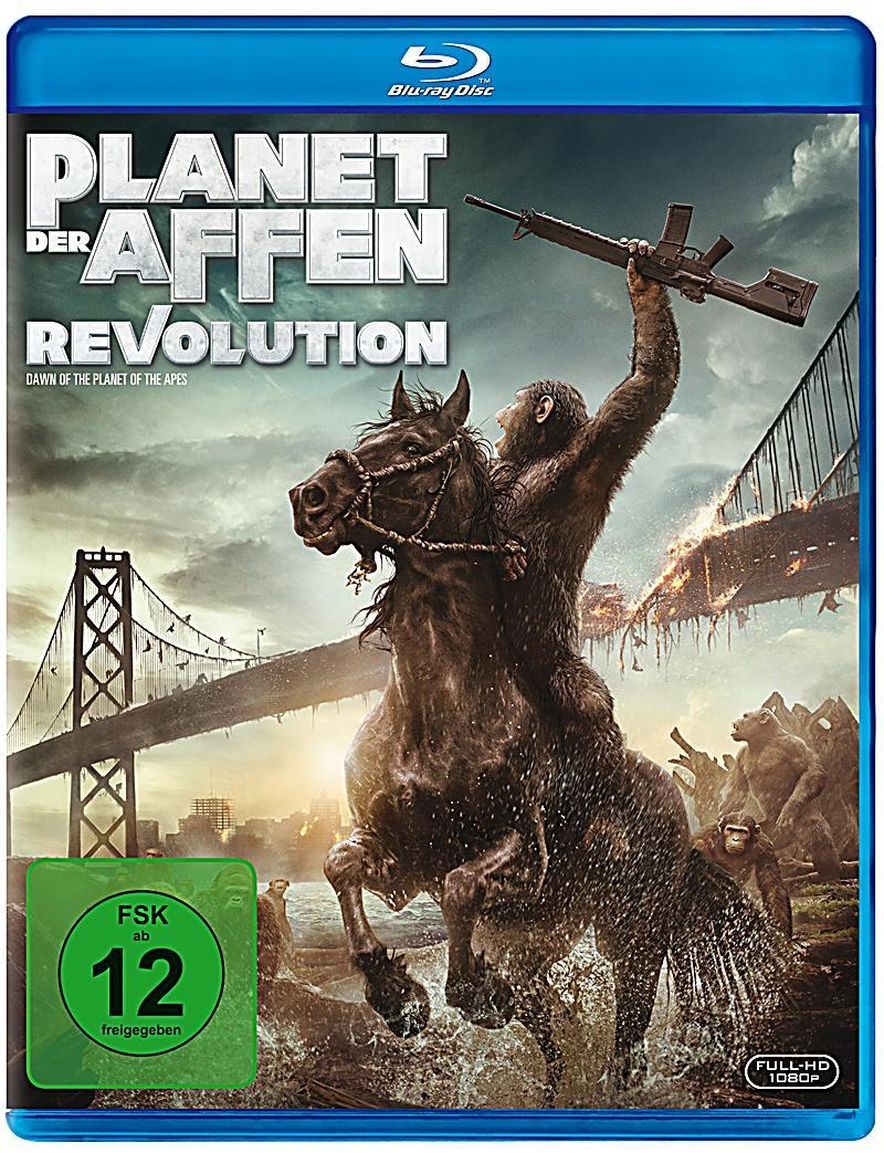 Bildergebnis für planet der affen revolution bluray