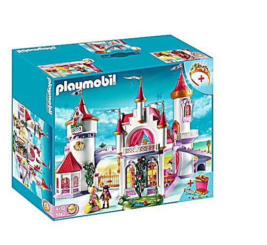 Playmobil 5142 princess prinzessinnenschloss for Playmobil princesse 5142