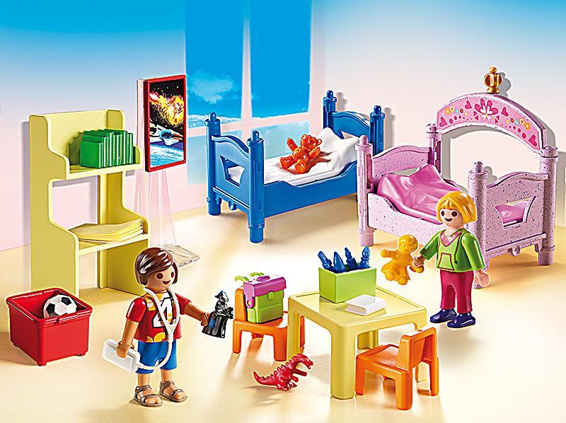 Playmobil 5306 buntes kinderzimmer bestellen for Kinderzimmer playmobil