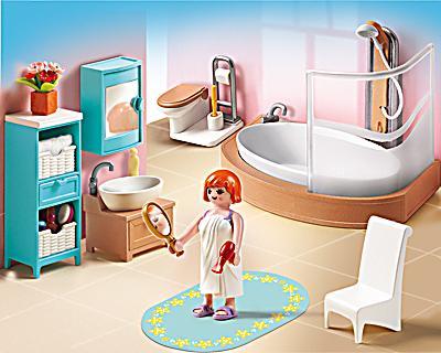 playmobil 5330 dollhouse badezimmer bestellen. Black Bedroom Furniture Sets. Home Design Ideas