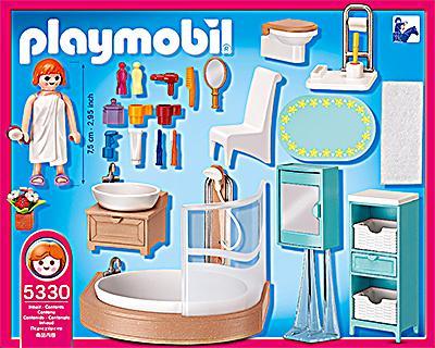 Playmobil 5330 dollhouse badezimmer bestellen for Badezimmer 5330