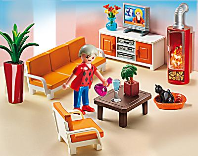 Playmobil 5332 dollhouse behagliches wohnzimmer - Playmobil wohnzimmer 5332 ...