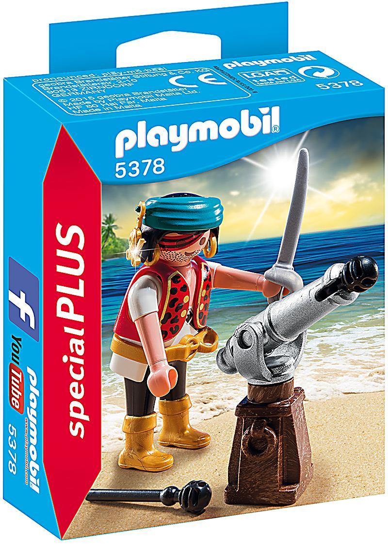 playmobil 5378 - special plus - pirat mit kanone | weltbild.de