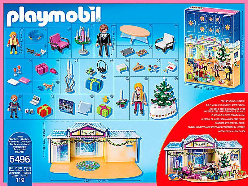 playmobil 5496 adventskalender weihnachtsabend mit. Black Bedroom Furniture Sets. Home Design Ideas