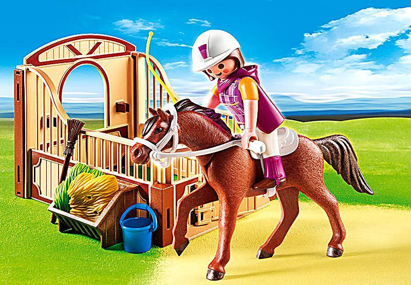 playmobil® 5518 country  shagya araber mit braunbeiger