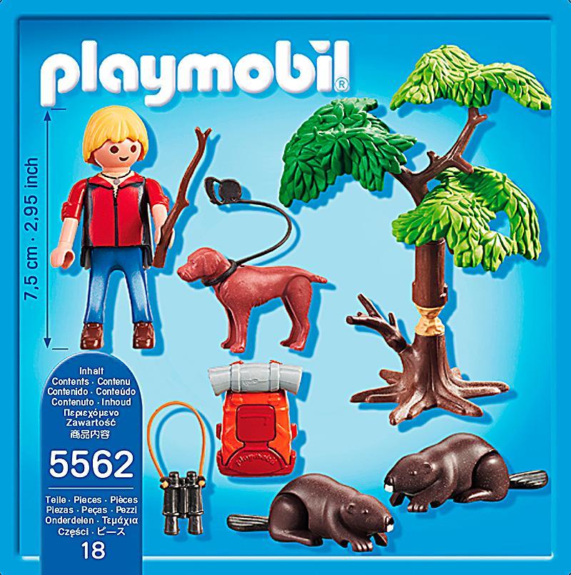 playmobil 5562 wild life biberbaum mit naturforscher. Black Bedroom Furniture Sets. Home Design Ideas