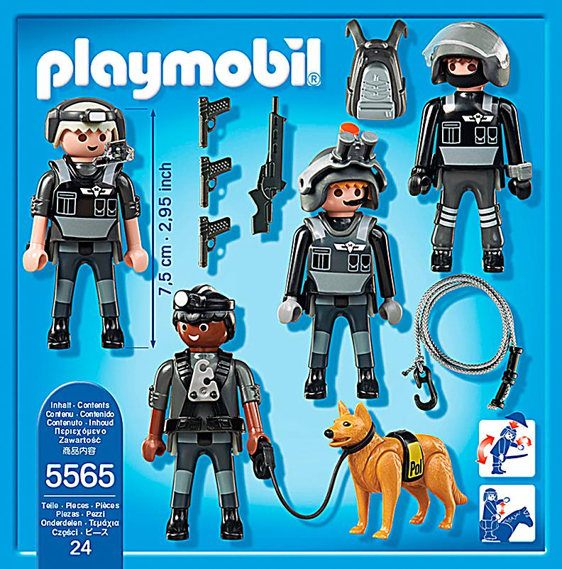 Playmobil 5565 city action sek team bestellen - Playmobile policier ...