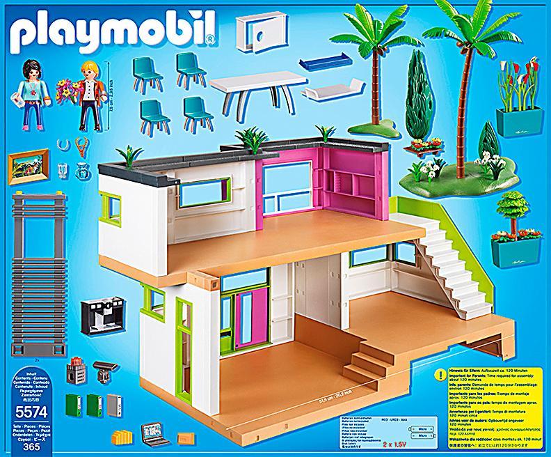 Playmobil 5574 city life moderne luxusvilla - Playmobil esszimmer ...