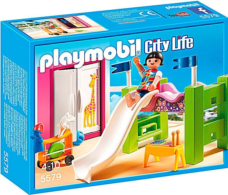 playmobil 5579 city life kinderzimmer mit hochbett. Black Bedroom Furniture Sets. Home Design Ideas