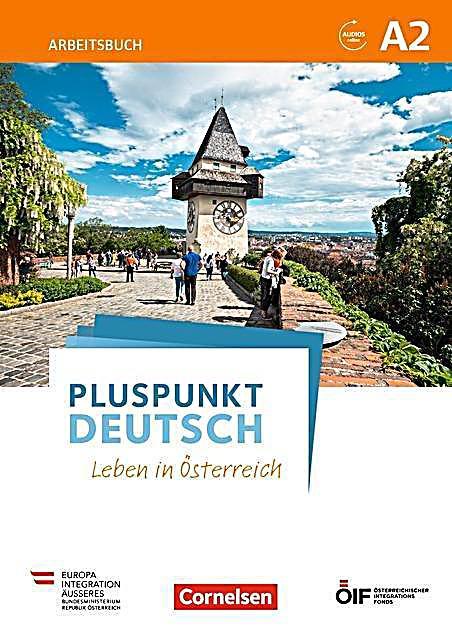 pluspunkt deutsch leben in sterreich a2 arbeitsbuch mit audio mp3 download und l sungen. Black Bedroom Furniture Sets. Home Design Ideas