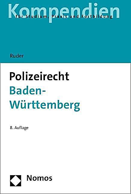 Polizeirecht Baden-Württemberg Buch portofrei bei Weltbild.de