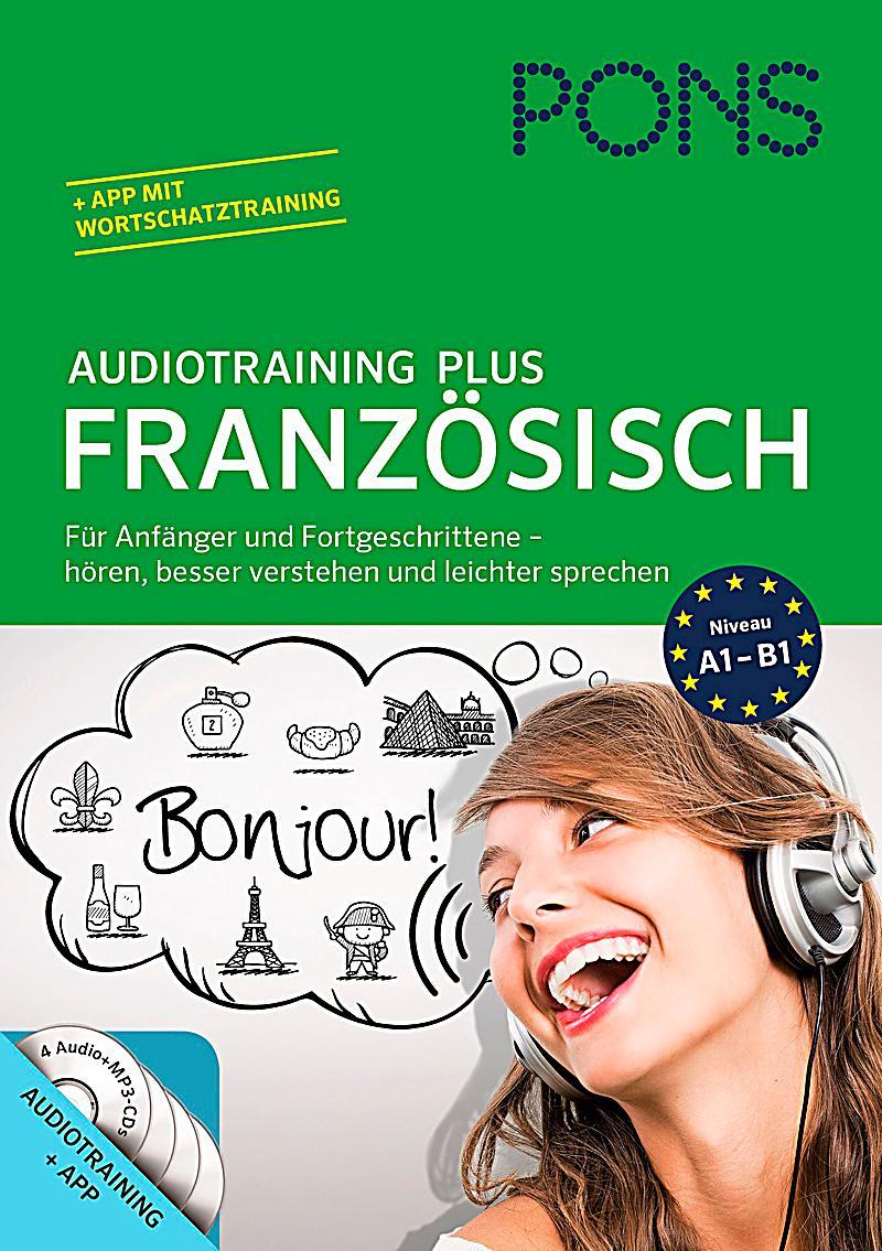 pons audiotraining plus franz sisch audio cd begleitbuch h rbuch. Black Bedroom Furniture Sets. Home Design Ideas