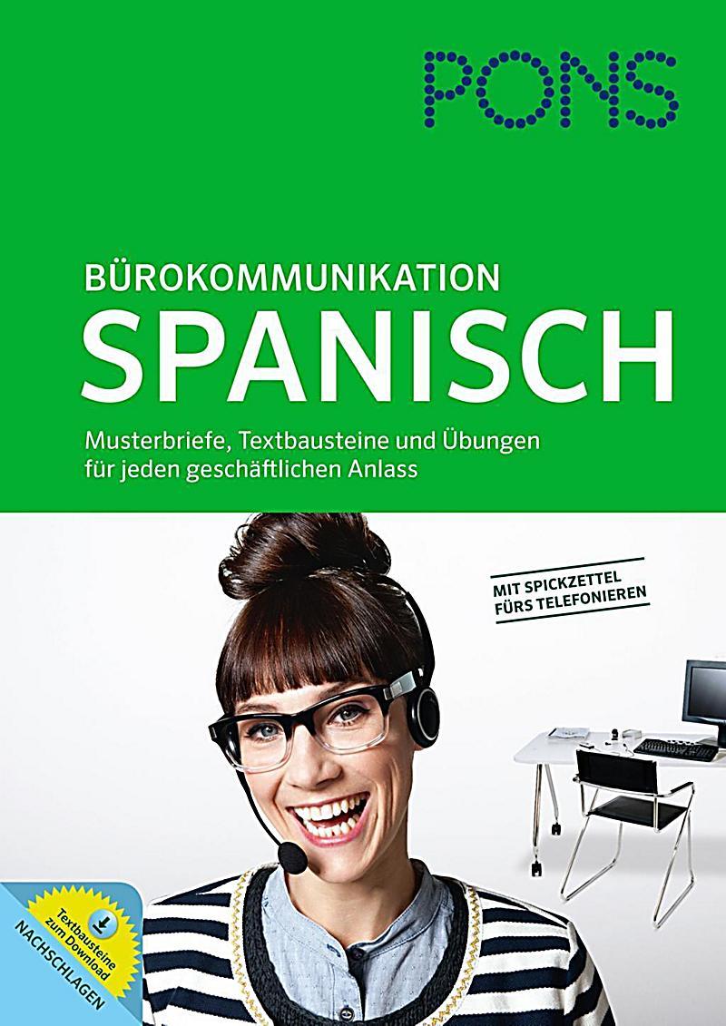 pons b rokommunikation spanisch buch portofrei bei. Black Bedroom Furniture Sets. Home Design Ideas