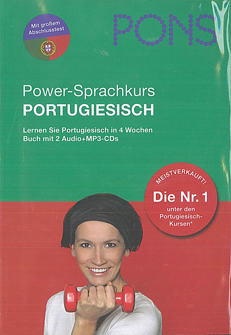 pons power sprachkurs portugiesisch m 2 audio mp3 cds. Black Bedroom Furniture Sets. Home Design Ideas