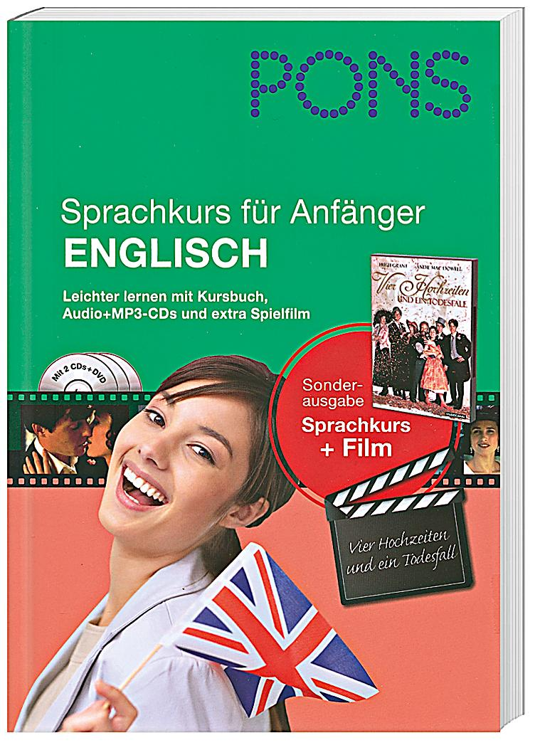 pons sprachkurs f r anf nger englisch m 2 mp3 cds u dvd video. Black Bedroom Furniture Sets. Home Design Ideas