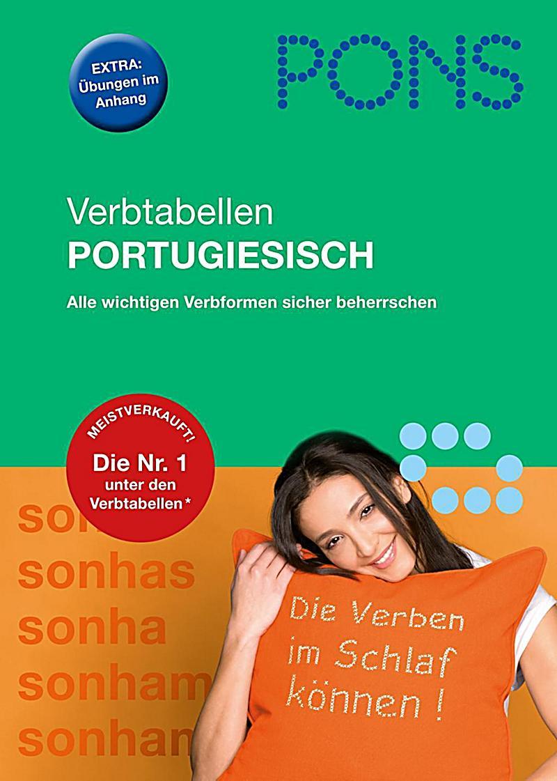 pons verbtabellen portugiesisch buch portofrei bei. Black Bedroom Furniture Sets. Home Design Ideas