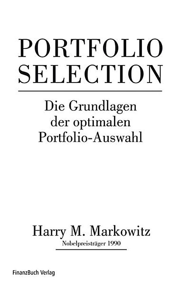 harry markowitz portfolio theory pdf