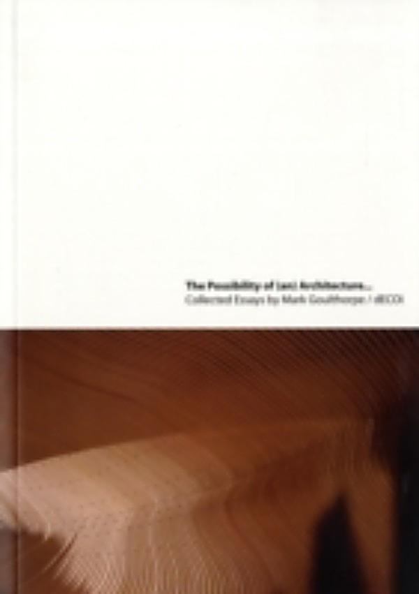 the possibility of an absolute architecture pdf