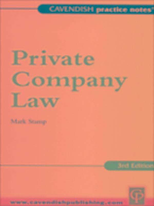 company law notes It has been over three years since the new companies ordinance (cap 622) ( new co) became effective on 3 march 2014 with its codification of certain directors' duties, as well as revising other related provisions this first guidance note produced by the company law interest group aims to review these provisions under.