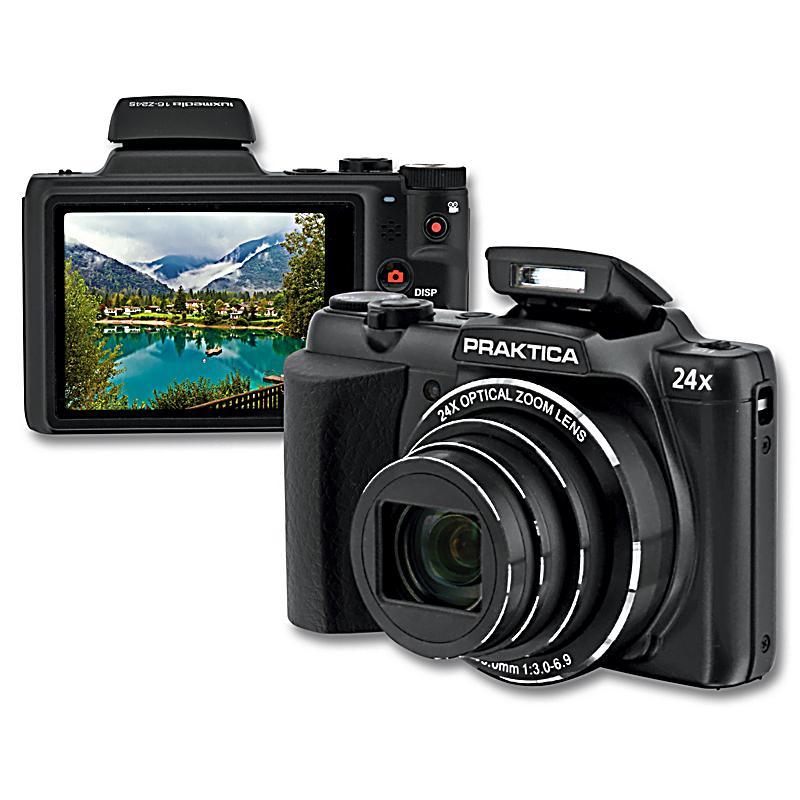 praktica lm 16z24s kompaktkamera farbe schwarz. Black Bedroom Furniture Sets. Home Design Ideas