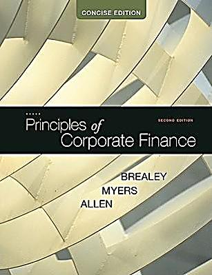 principles of corporate finance 7 Based on the main theories of working capital (preve & sarria-allende, 2011  brealey et al, 2011 ), the cube model of scf (pfohl & gomm, 2009), recent.
