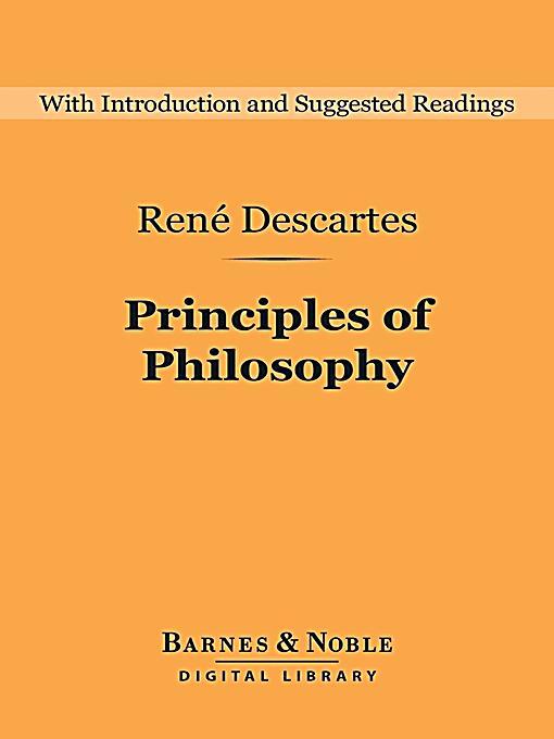 An analysis of philosopher rene descartes method of doubt