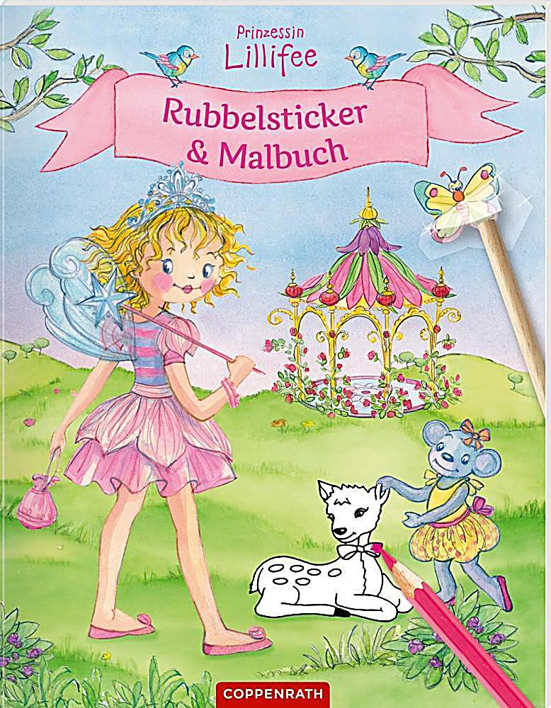 Prinzessin lillifee rubbelsticker malbuch buch - Wandsticker prinzessin lillifee ...