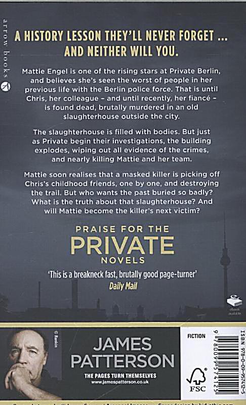 Private: Private Berlin by James Patterson and Mark Sullivan (2013, CD, Unabridg
