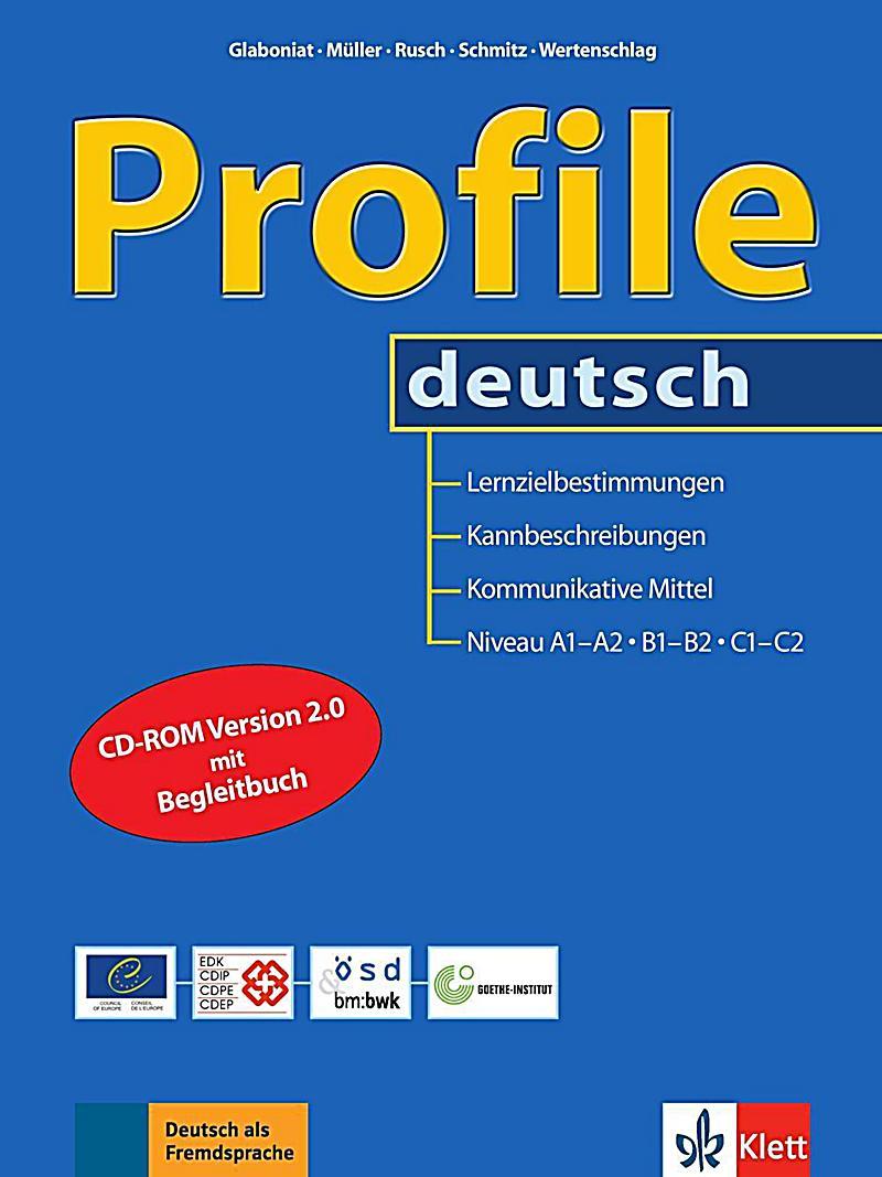 profile deutsch niveau a1a2 b1b2 c1c2 m cdrom buch