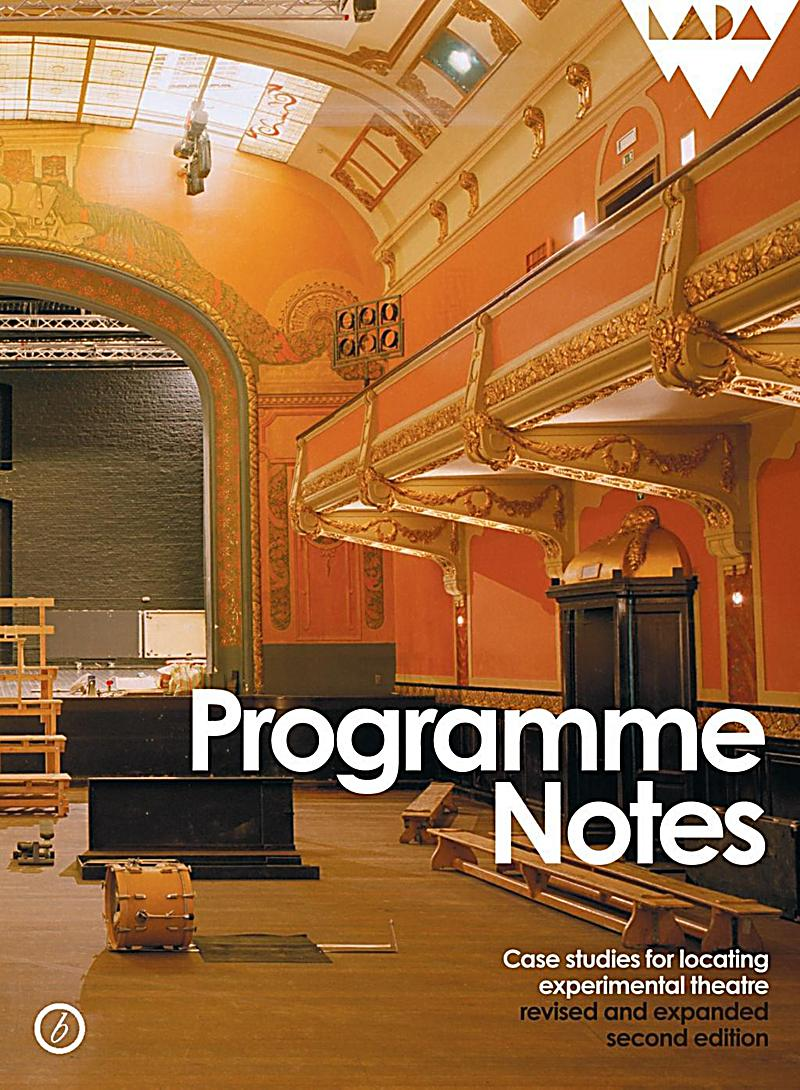 programme notes Informed concertgoers get the most out of performances we make sure your  audiences have all the information they need to fully enjoy your program.