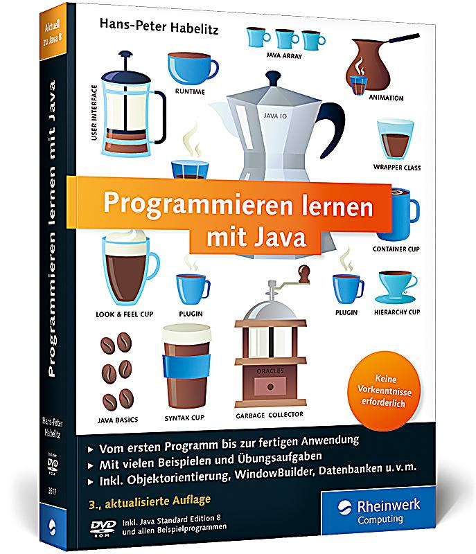 programmieren lernen mit java m dvd rom buch versandkostenfrei. Black Bedroom Furniture Sets. Home Design Ideas