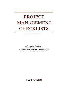 Project management checklist a complete guide for for Time saver details for exterior wall design