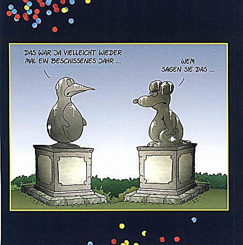 Uli Stein Neujahr