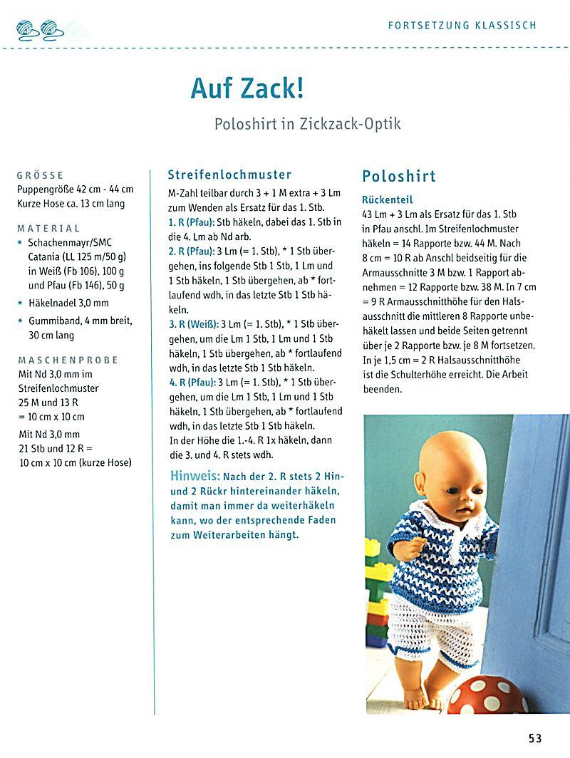 Puppenkleider selbst gehäkelt Buch portofrei bei Weltbild.at