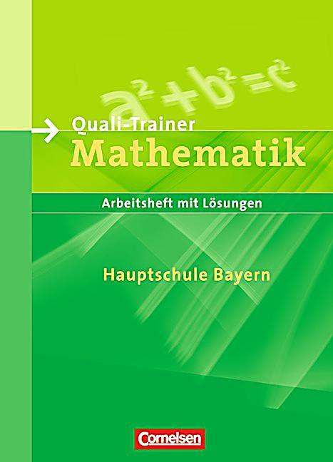quali trainer mathematik hauptschule bayern buch portofrei. Black Bedroom Furniture Sets. Home Design Ideas