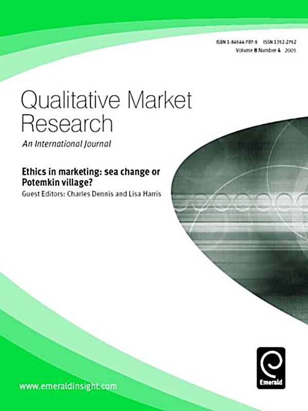 marketing research journal International journal of market research (ijmr) the world authority on research methodologies and techniques for professionals and academics go.