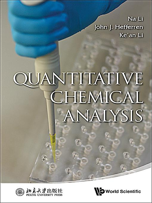 Quantitative chemical analysis franklindes quantitative fandeluxe Image collections