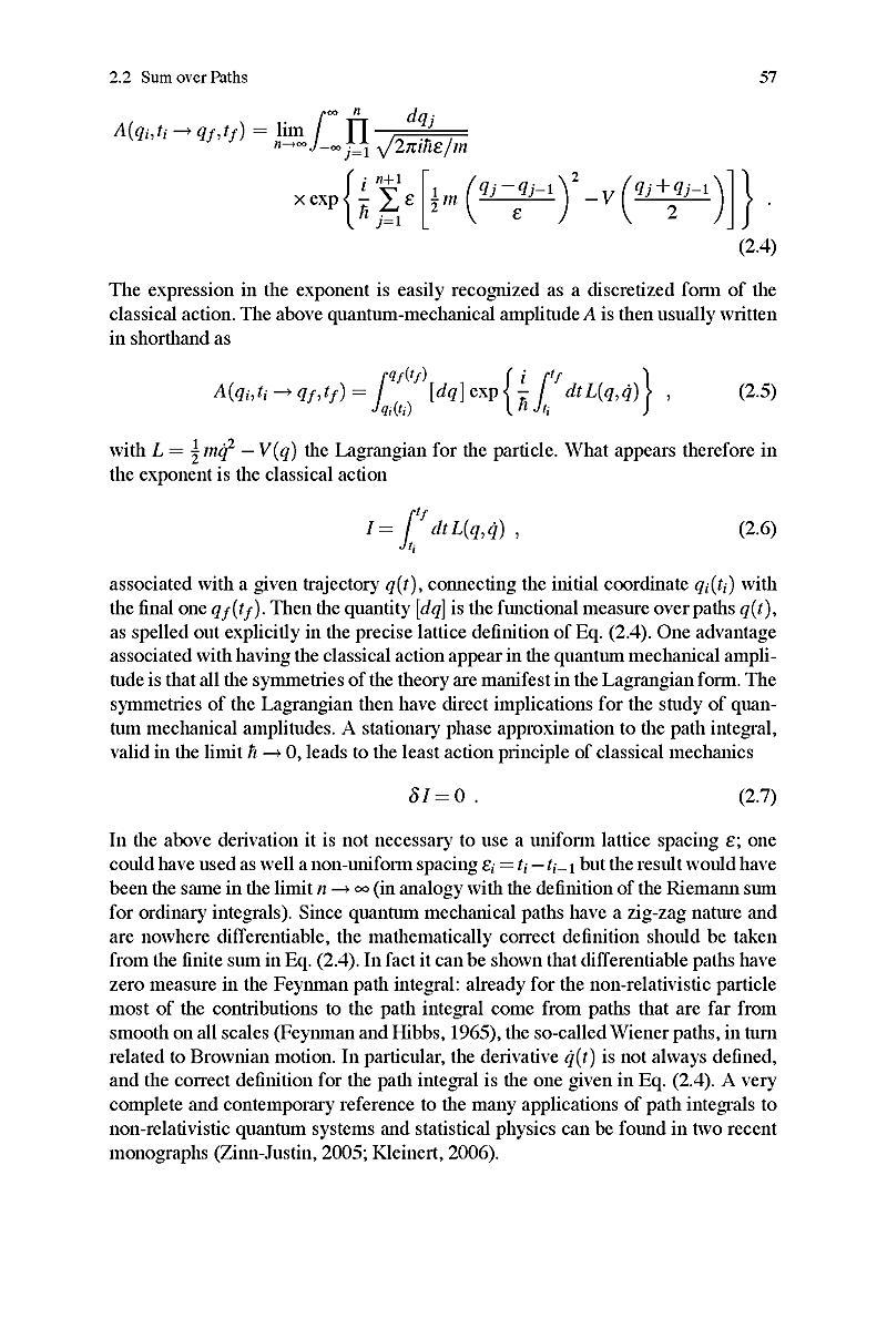feynman quantum mechanics and path integrals pdf