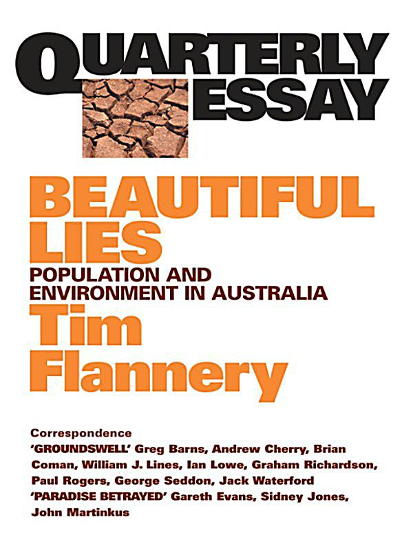 tim flannery essay