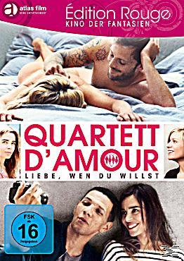 quartett d 39 amour liebe wen du willst dvd. Black Bedroom Furniture Sets. Home Design Ideas