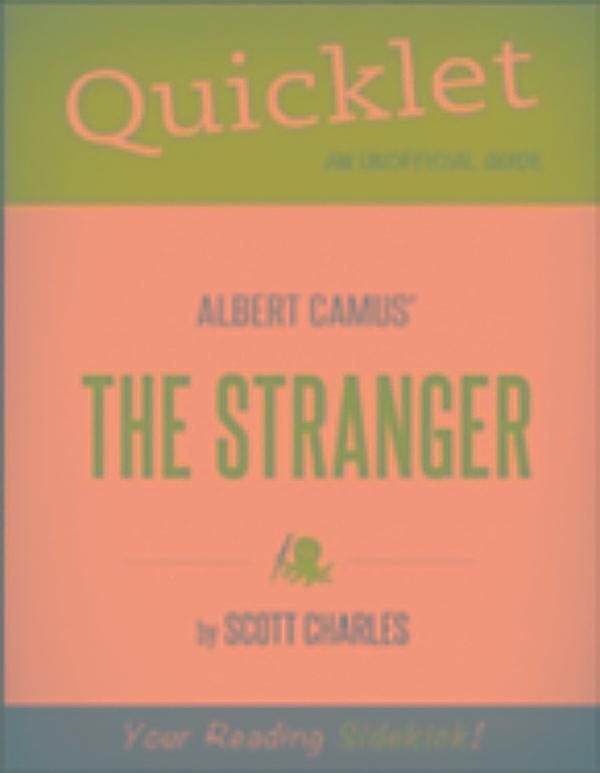 an analysis of the character of the stranger in the book the stranger by albert camus The stranger by albert camus is a very short novel that can easily be read in an afternoon however, digesting the content will certainly take much longer as this little novel raises serious questions about morality, society, justice, religion, and individuality.